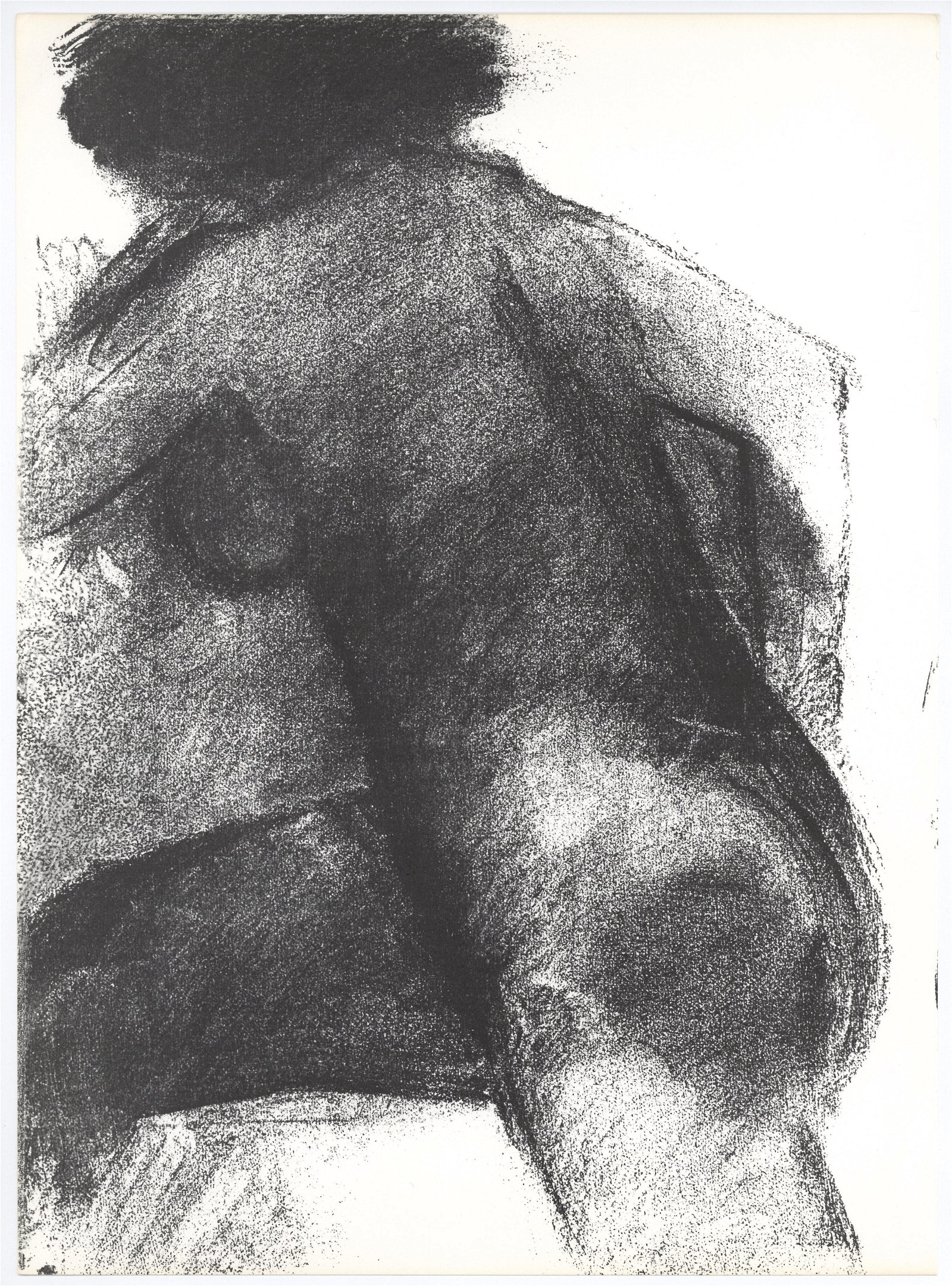 Claude Garache original lithograph, 1982