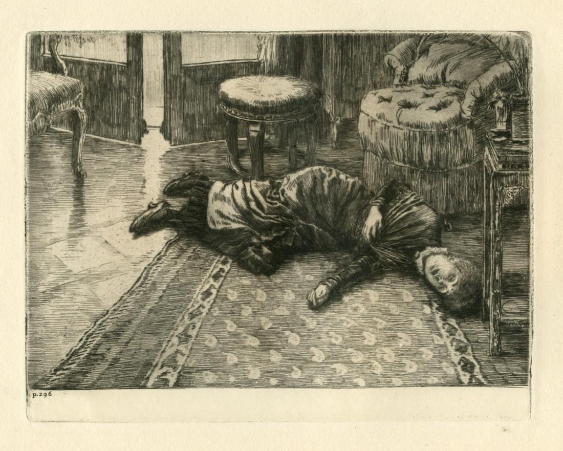 James Tissot original etching