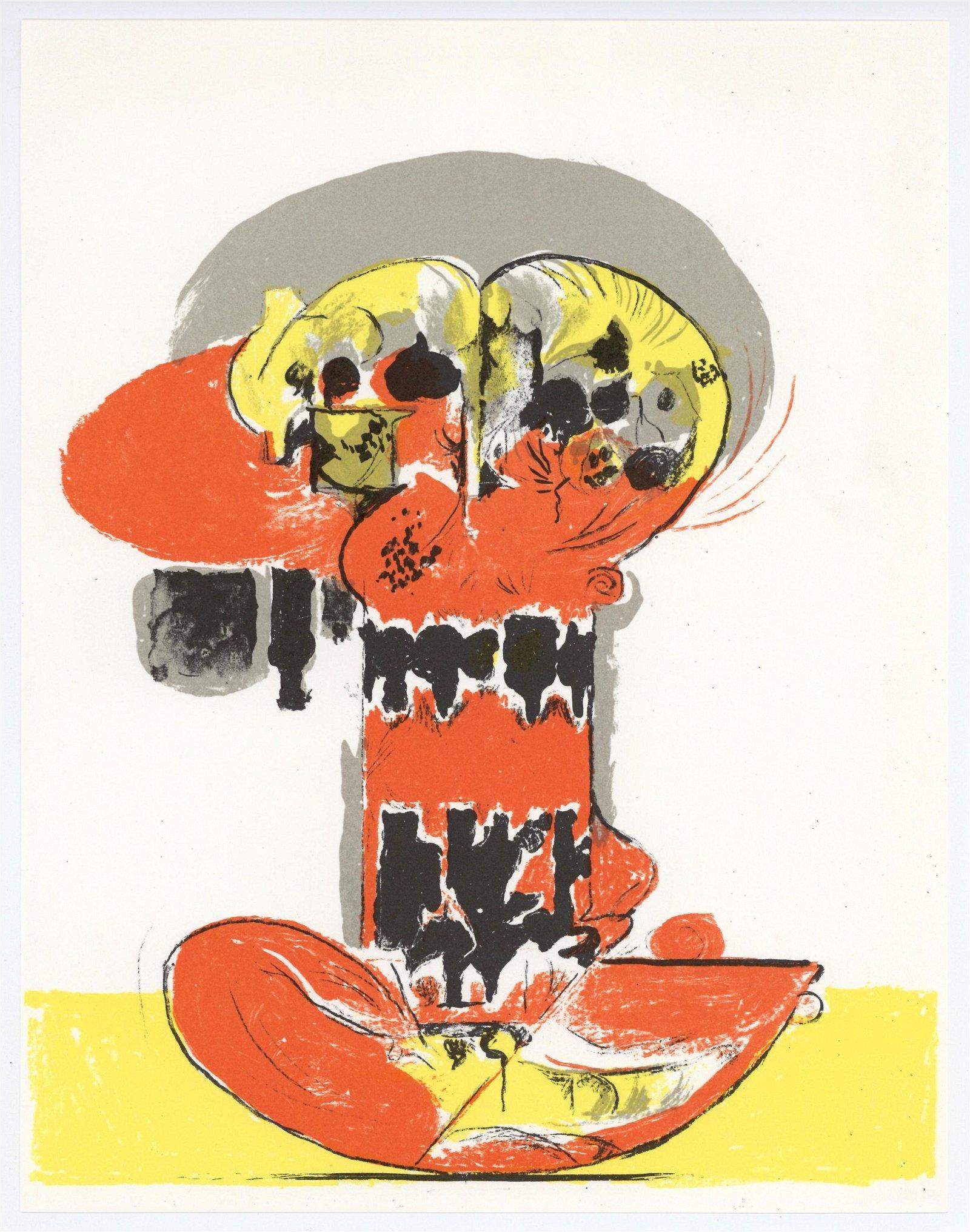 Graham Sutherland original lithograph