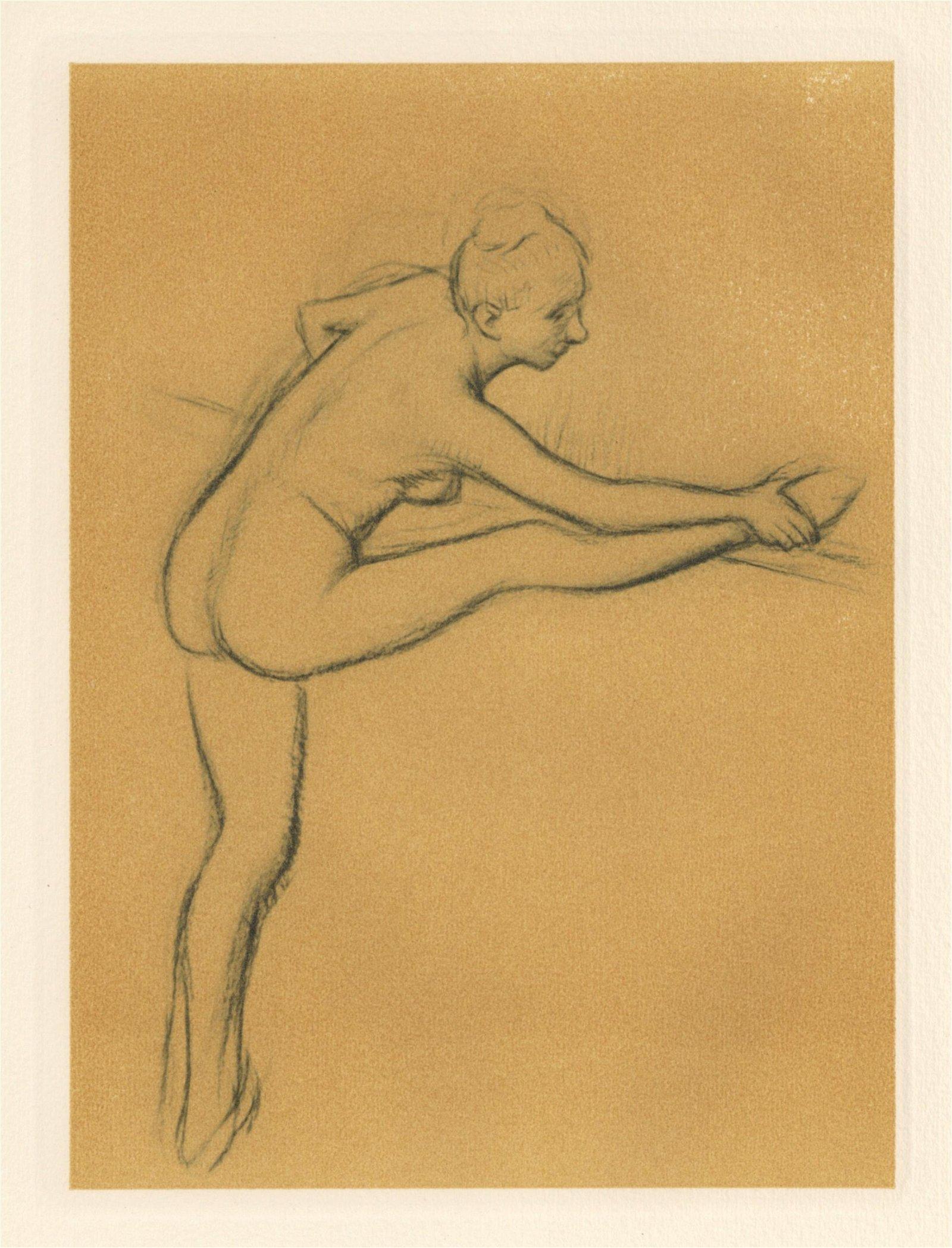 "Edgar Degas ""Danseuse a la barre"""