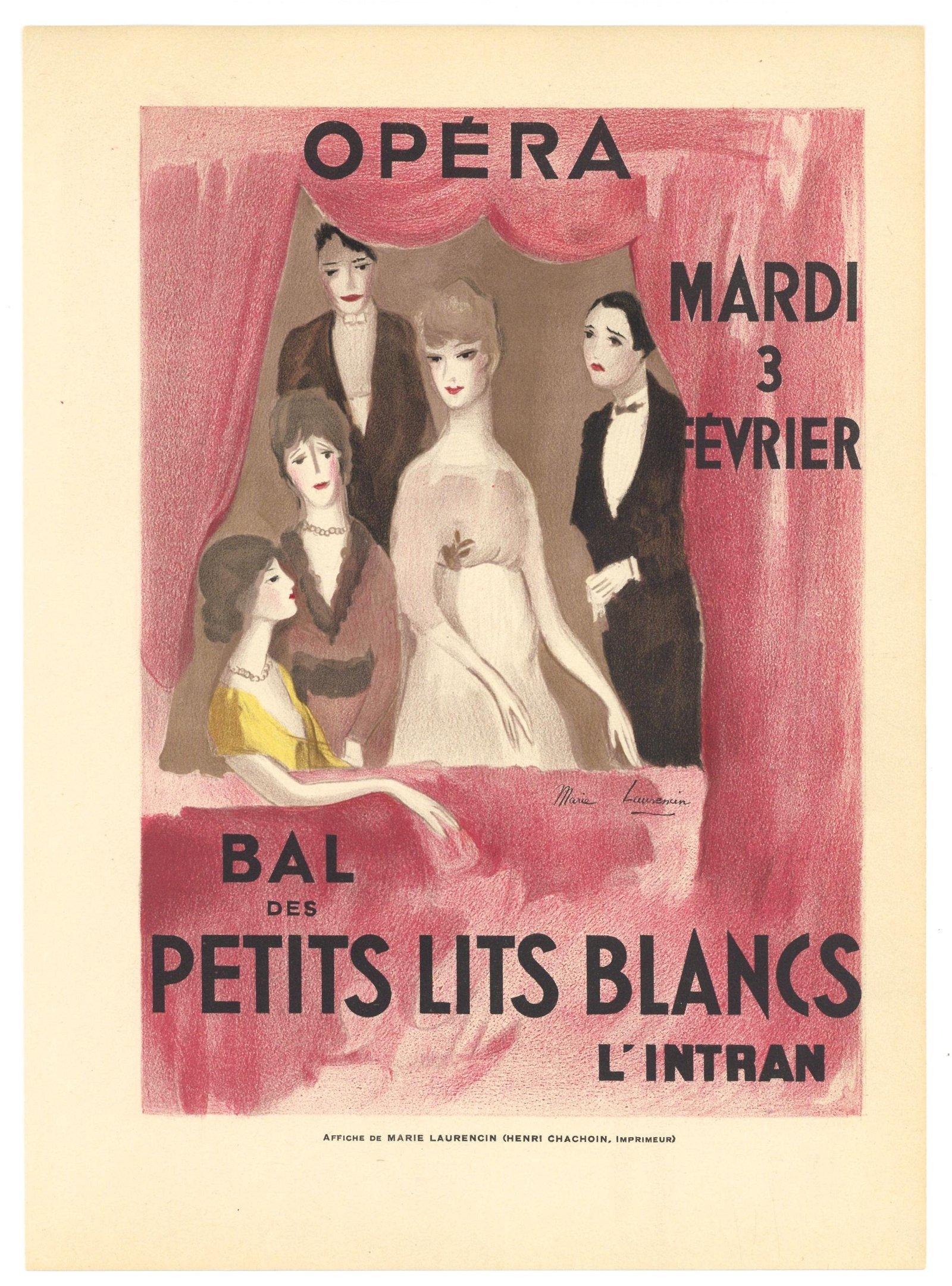 "Marie Laurencin ""Opera - Bal des Petits Lits Blancs"""