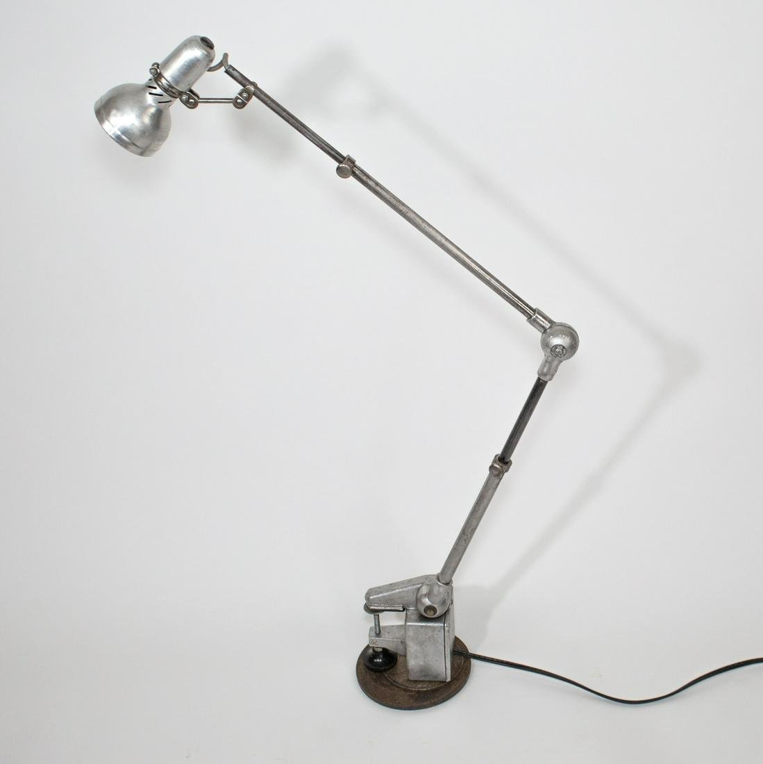 French industrial modernist task lamp Lumina small