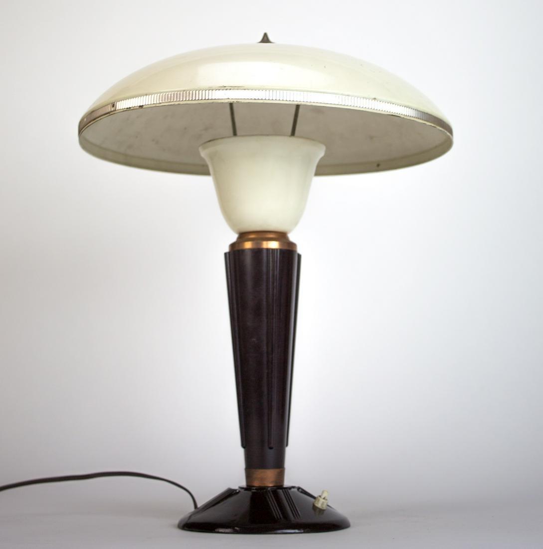 FRENCH MODERNIST MID CENTURY DESK LAMP JUMO BAKELITE