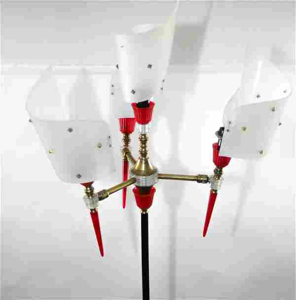 FRENCH-Midcentury-modernist-FLOOR-LAMP-Disderot-Guarich