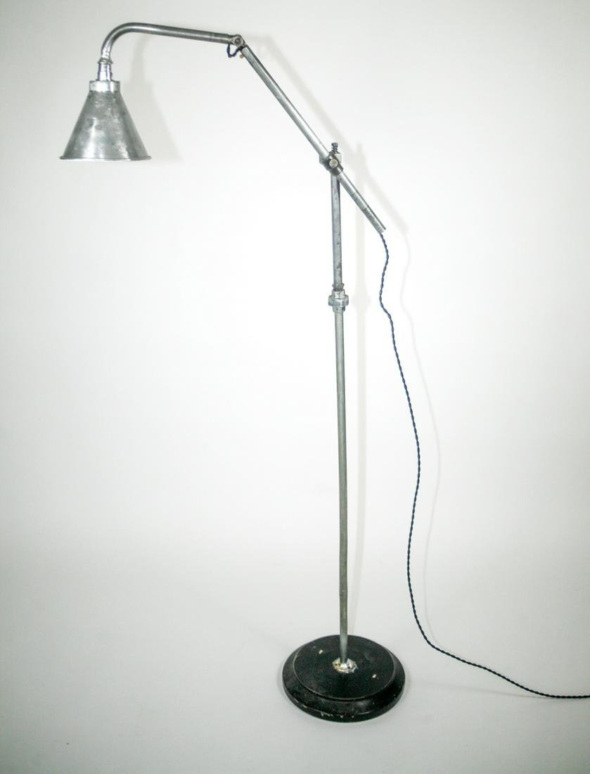 FRENCH INDUSTRIAL MODERNIST LAMP KI-KLAIR FLOOR LAMP