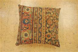 Antique Hand Made Of Caucasian Pillow Cushion Rug Hand