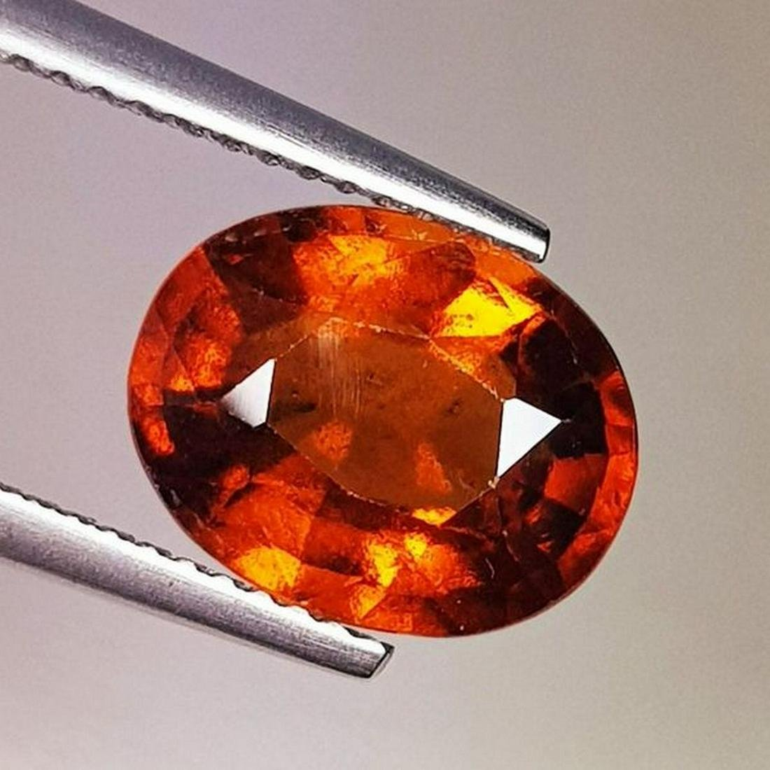 Natural Hessonite Garnet Oval Cut 4.09 ct