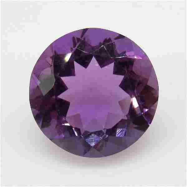 9.96 Ct Natural Purple Amethyst Round Cut