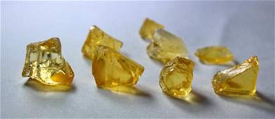 Natural  unheated Yellow Opal Rough Lot
