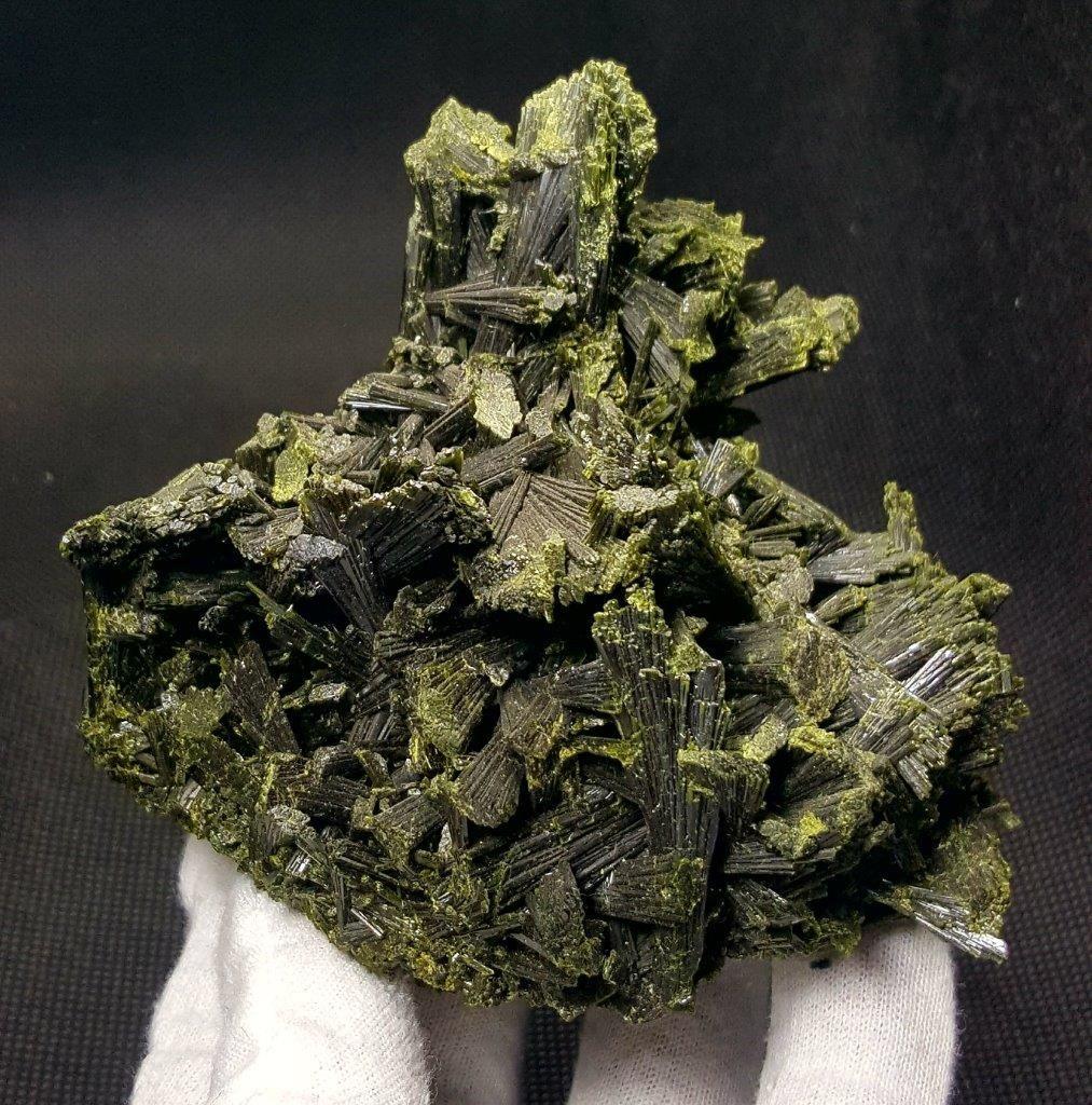 440 Grams Undamaged Natural Epidote Tree Specimen -