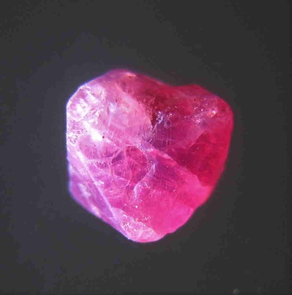 1.35 CT VIVID RED RUBY - UNTREATED GEMSTONE