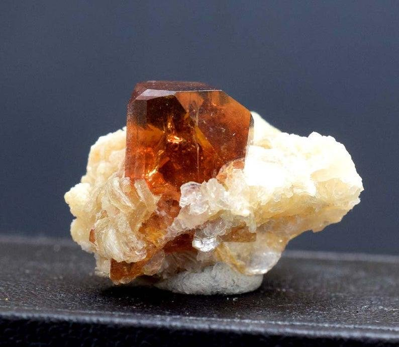 Topaz Crystal , Double Terminated Damage Free Natural