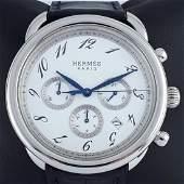 Hermès - Arceau Automatic Chronograph - Ref: AR4.910 -
