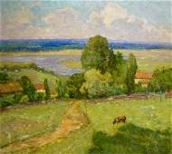Oil painting Landscape Kosyak Alexander Borisovich