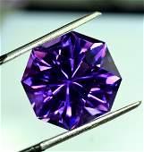 Natural Amethyst Loose Gemstone, Dark Purple - Fancy