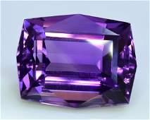 Natural Deep Purple Amethyst Gemstone Top Grade