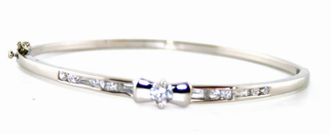 2 Ct Lab White Sapp Bracelet