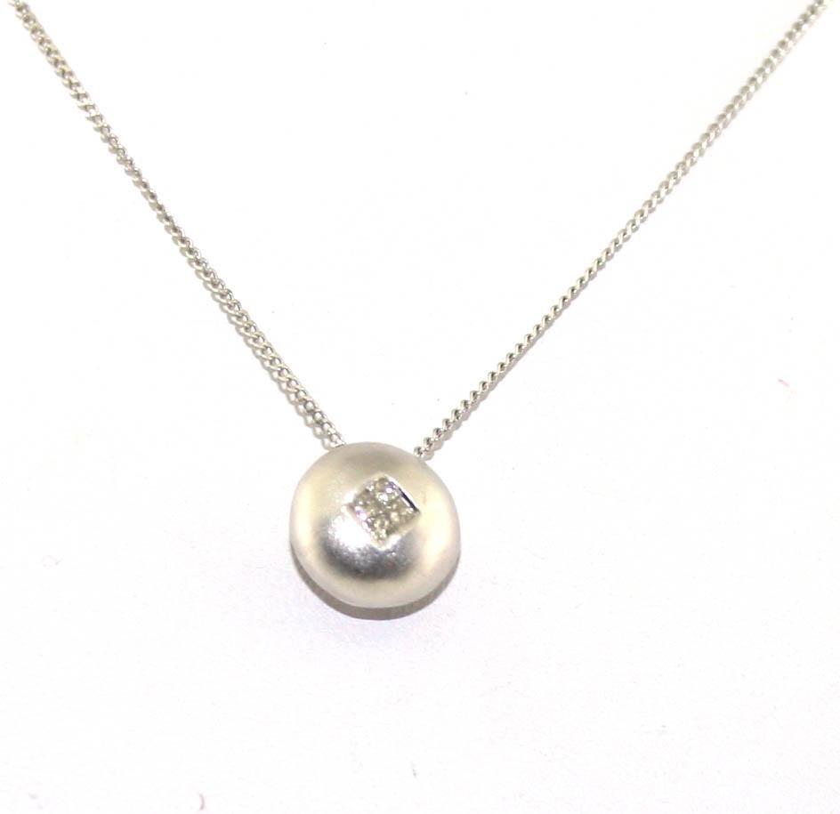 0.20 Diamond 18K Necklace
