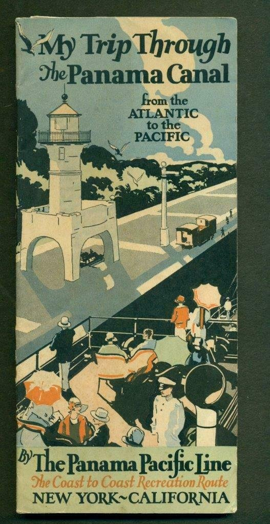 1929 PANAMA PACIFIC LINE TRAVEL BROCHURE for TRIP