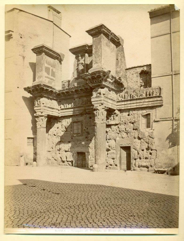 LATE 19th CENTURY ITALY PHOTOGRAPH, FORUM of NERVA