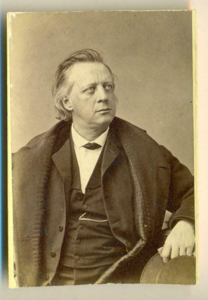 c. 1870 s HENRY WARD BEECHER by SARONY, ABOLITIONIST,