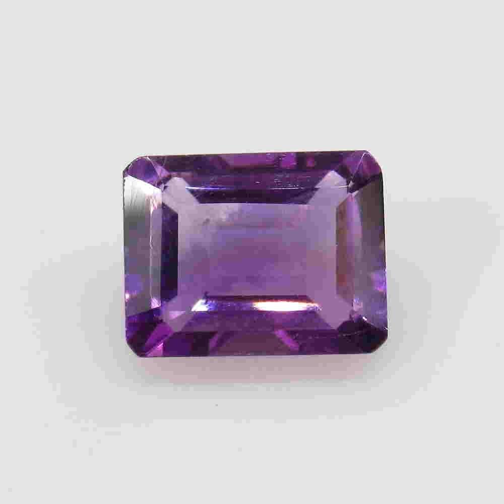 2.42 Ctw Natural Purple Amethyst Octagon Cut