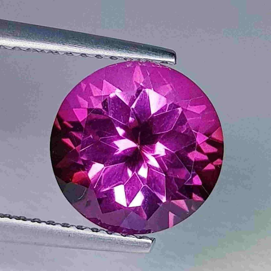 Natural Pink Topaz Round Cut 4.33 ct