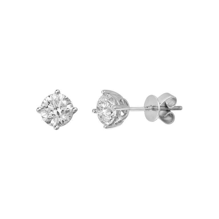 Classic 1.4 Carat VVS 1 Fabulous White Gold Diamond