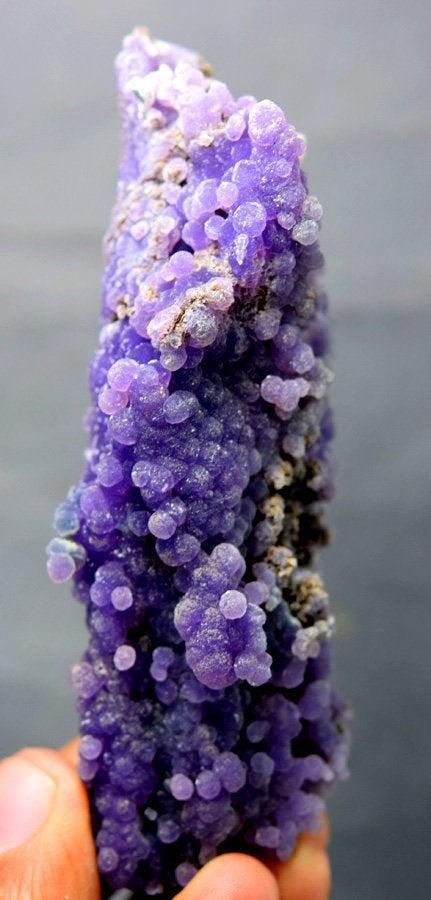Grape Agate Chalcedony Specimen , Botryoidal Chalcedony