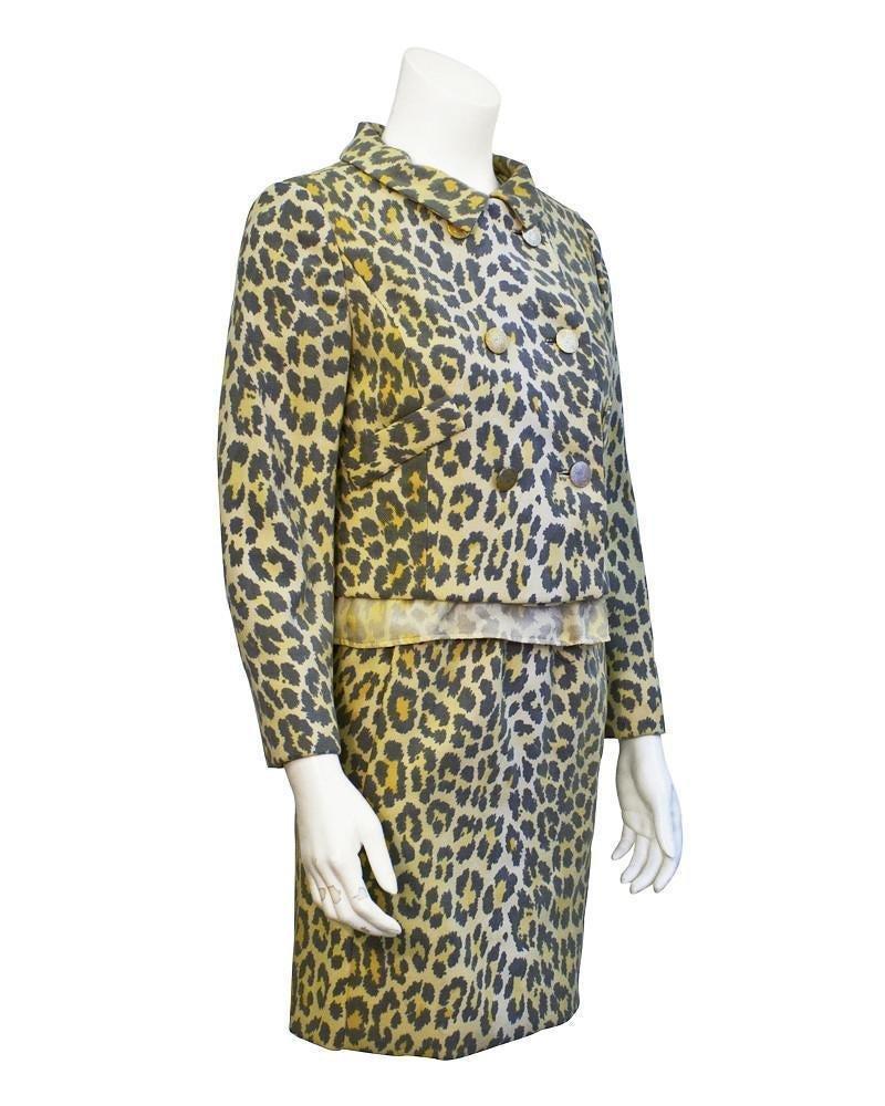 Lee Hano Leopard 3 piece suit