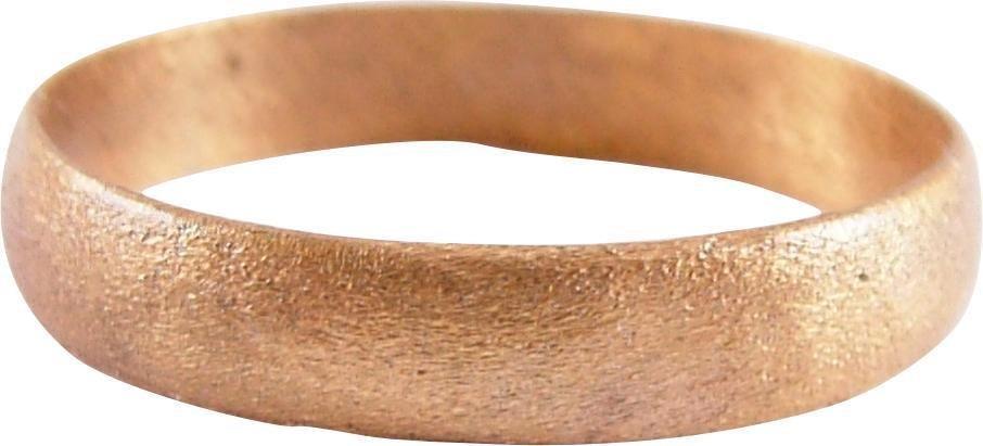 ANCIENT VIKING MAN'S WEDDING RING C.850-1050 AD SZ 9¾