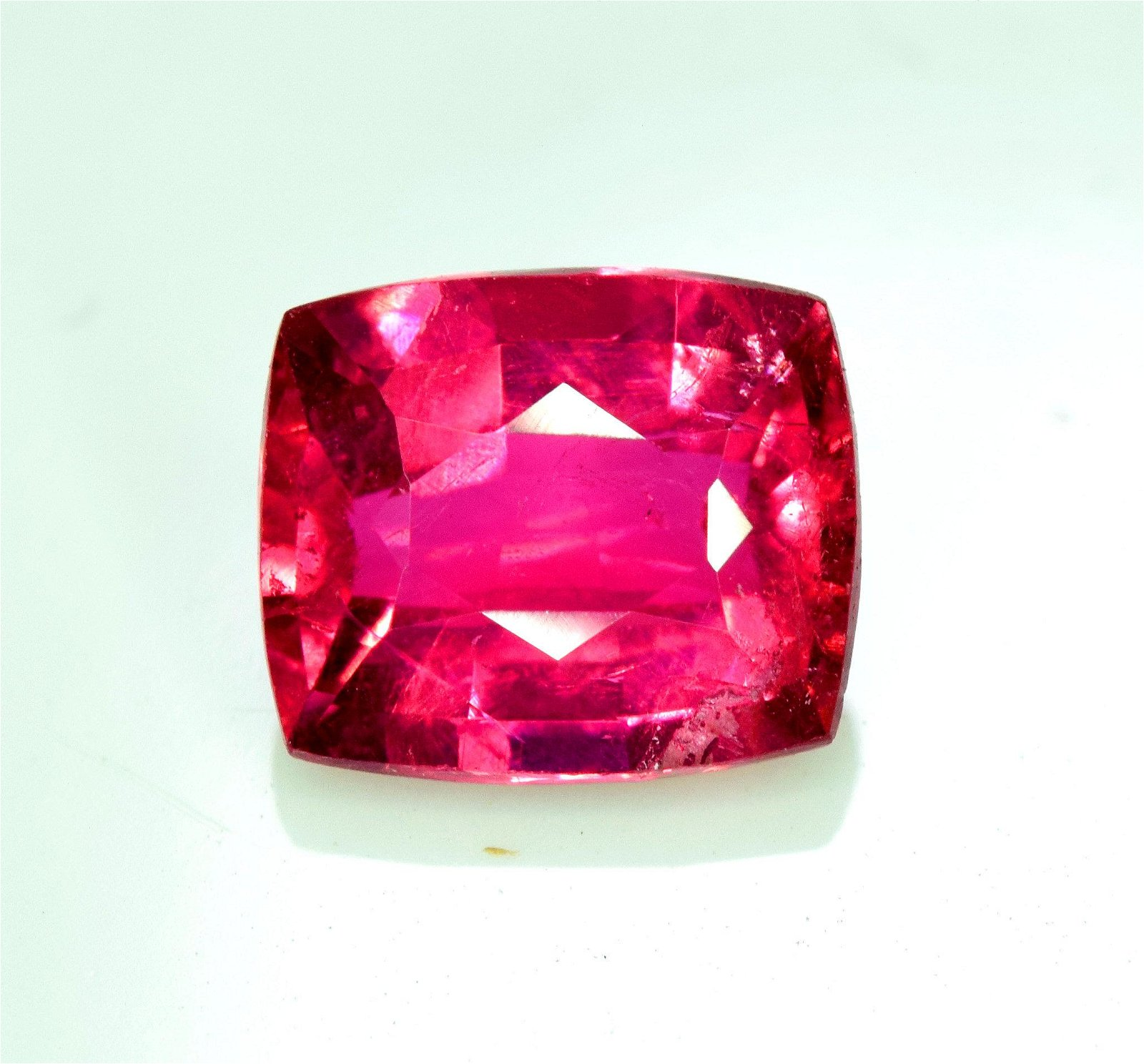 Rubelite Tourmaline Gemstone , Tourmaline Cut Stone ,