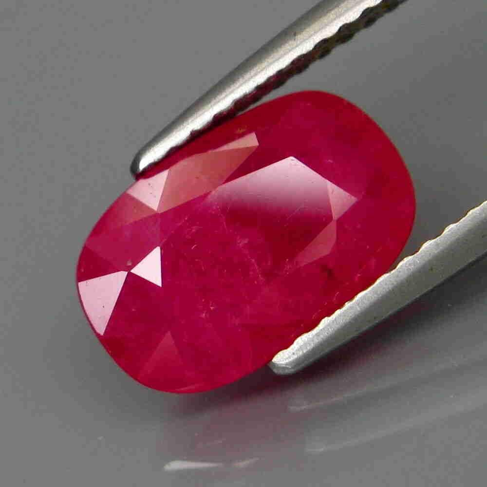 3,93 ct Natural Top Red Ruby 3,93 ct