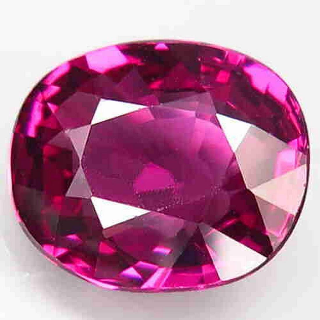 3,39 ct Natural Purplish Pink Rhodolite Garnet 3,29 ct