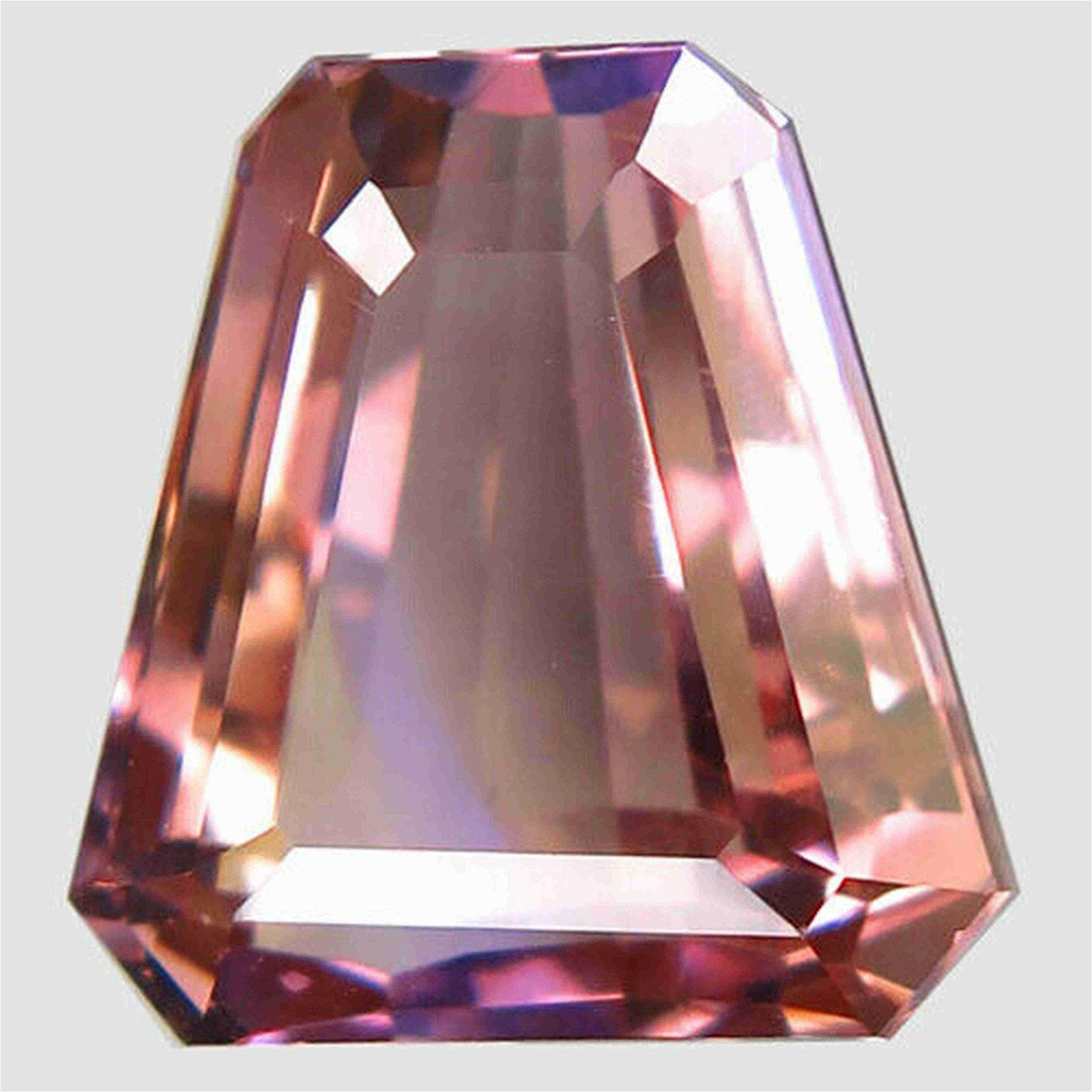 12,46 ct Natural Bi Color Ametrine 12,46 ct