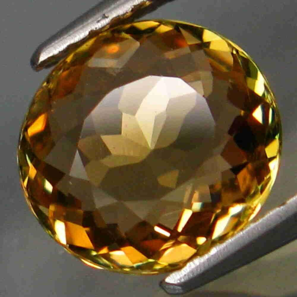 2,36 ct Rare Color! Natural Yellow Tourmaline 2,36 ct