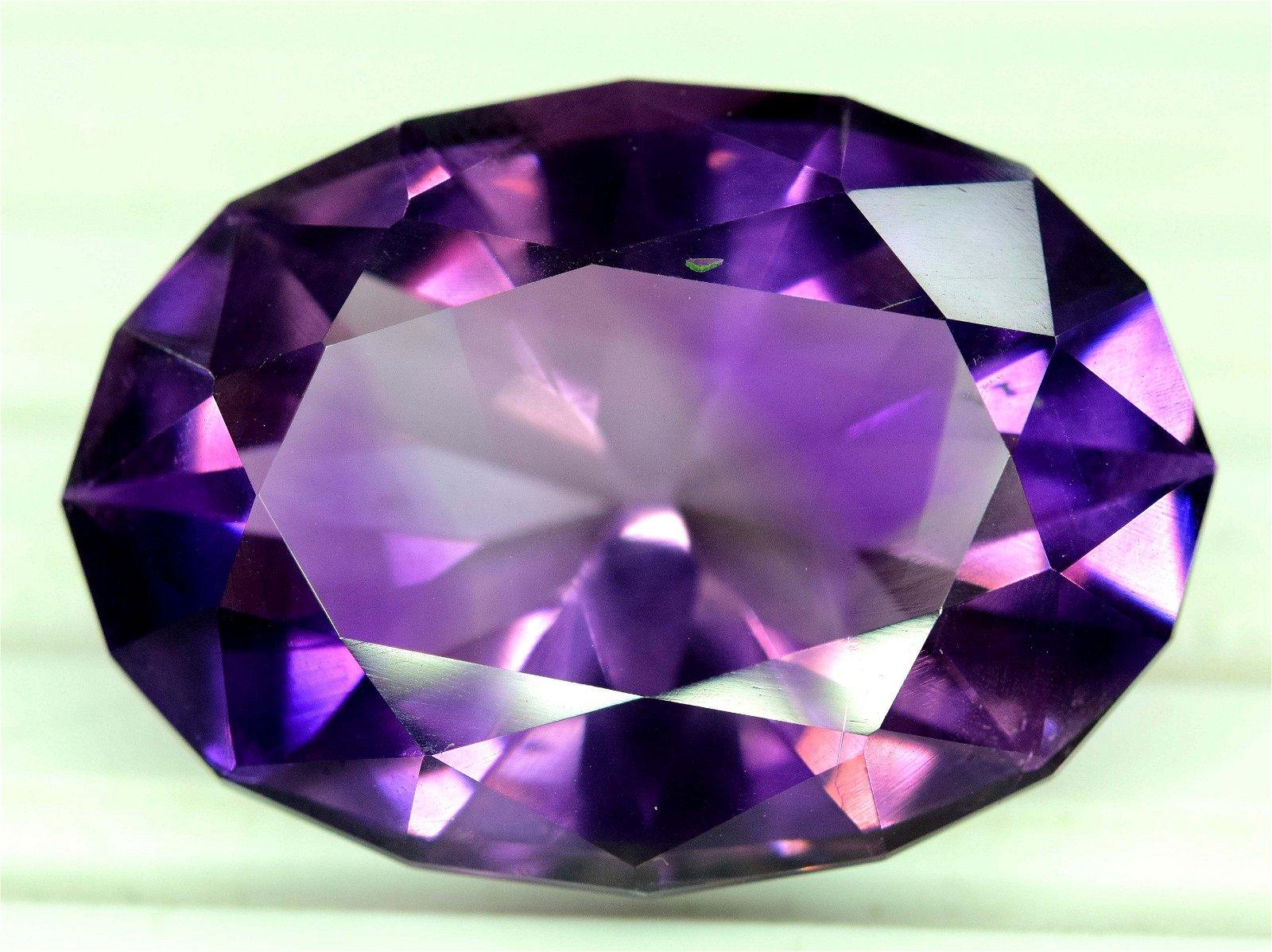 Amethyst Gemstone , Top Quality Fancy Shape Deep Purple