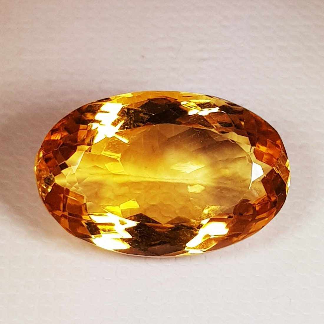 12.45 ct Natural Citrine Oval Cut