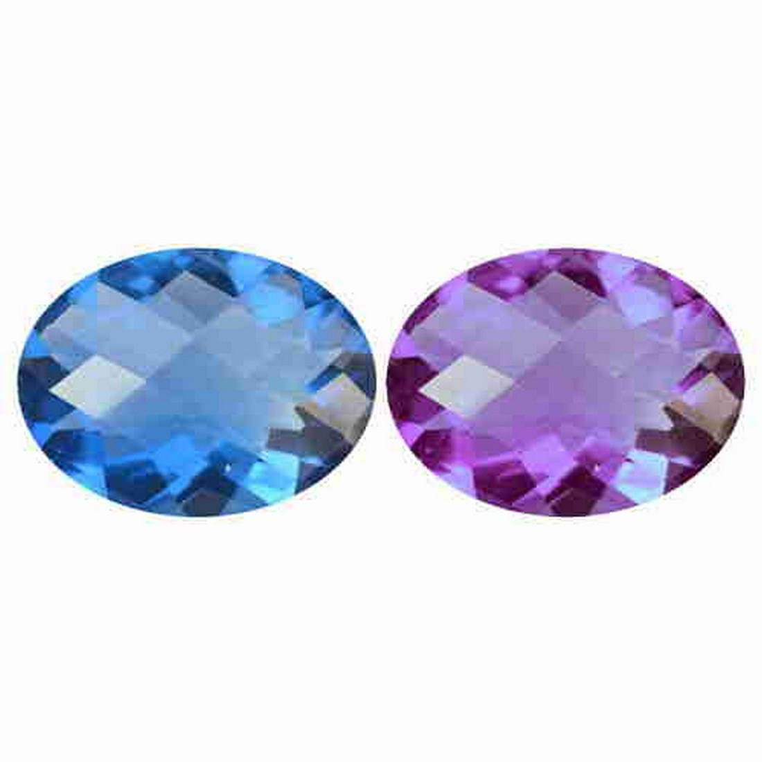 8.81 ct natural color change fluorite