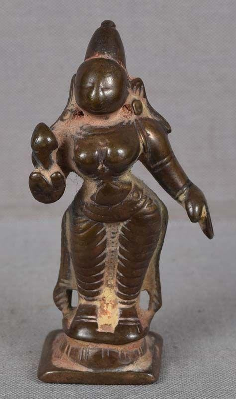 18c Indian bronze BHUDEVI
