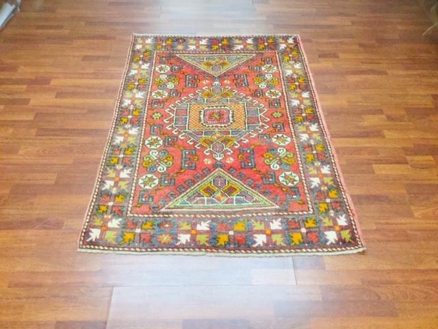 Vintage Turkish Bergama rug 1933