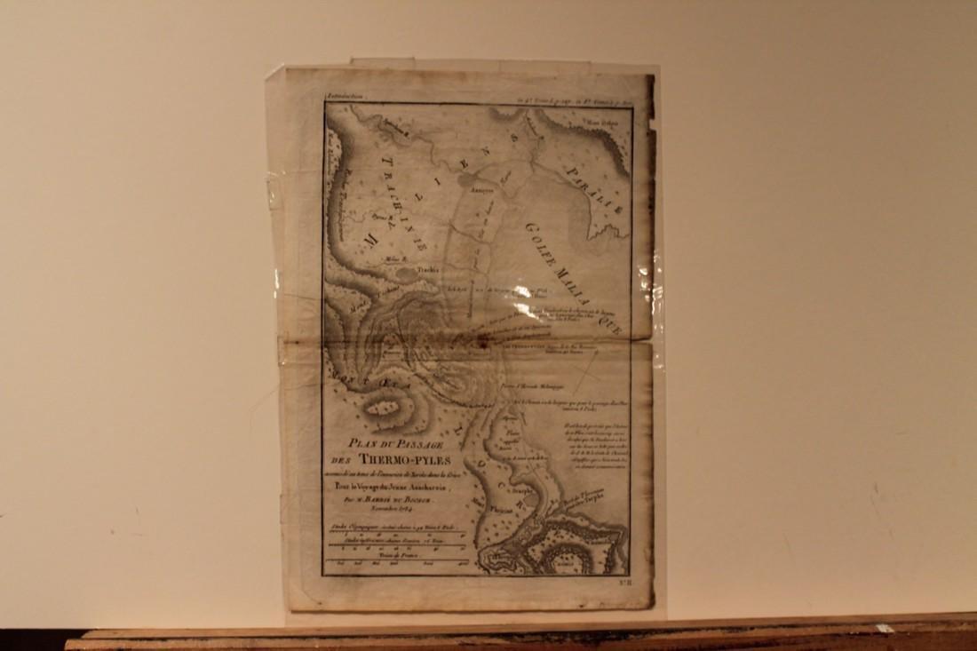 1788 Map of Thermopylae
