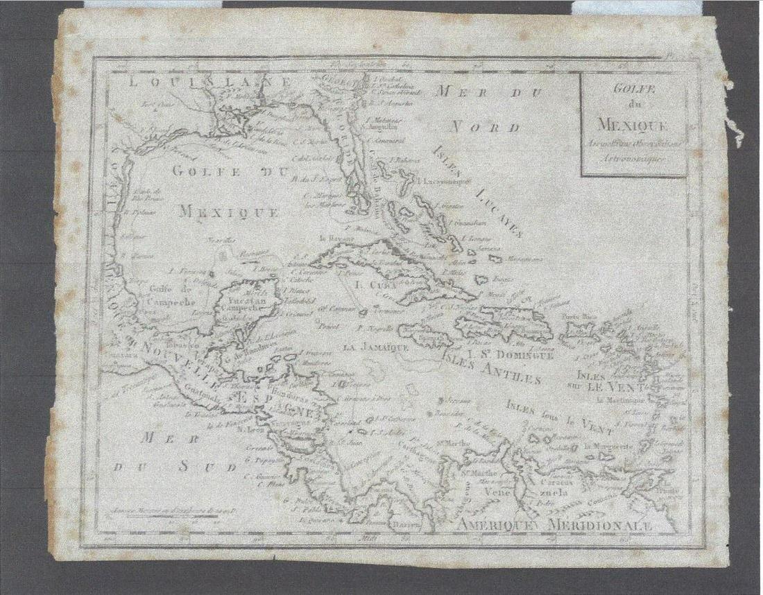 Golfe du Mexique Assujetti aux Observations