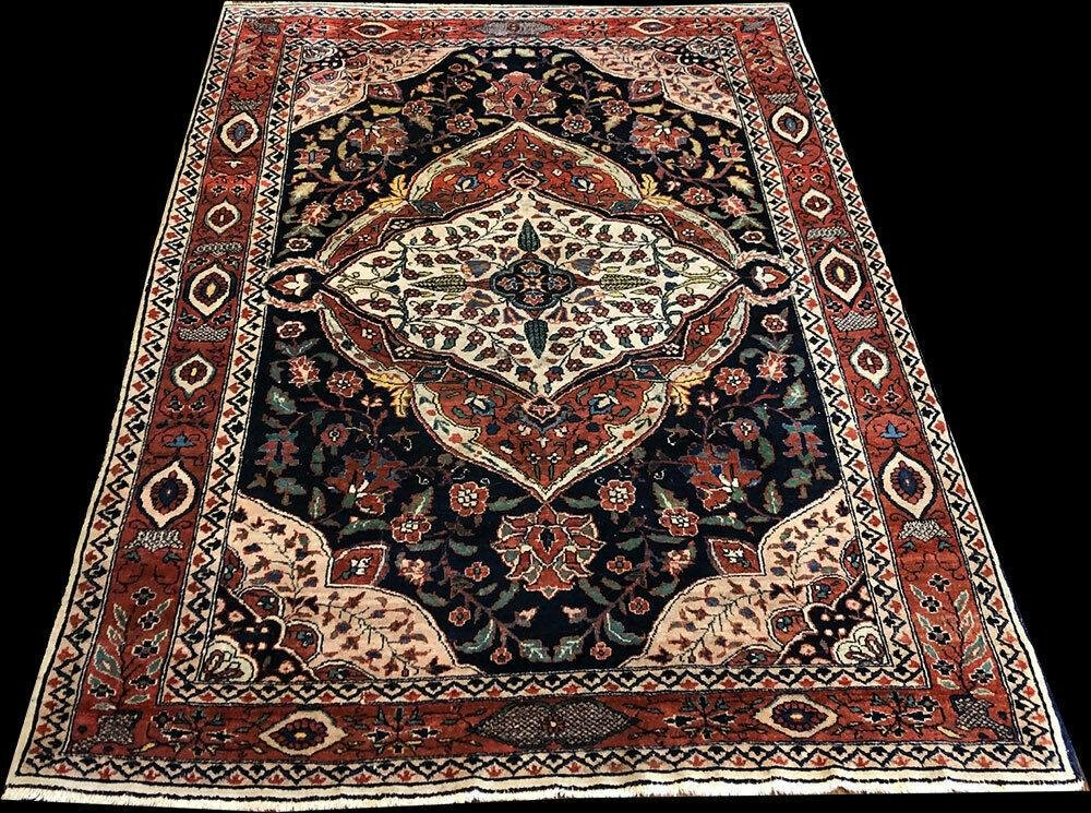 A Gorgeous Antique Persian Tabriz/Khoy Area Rug