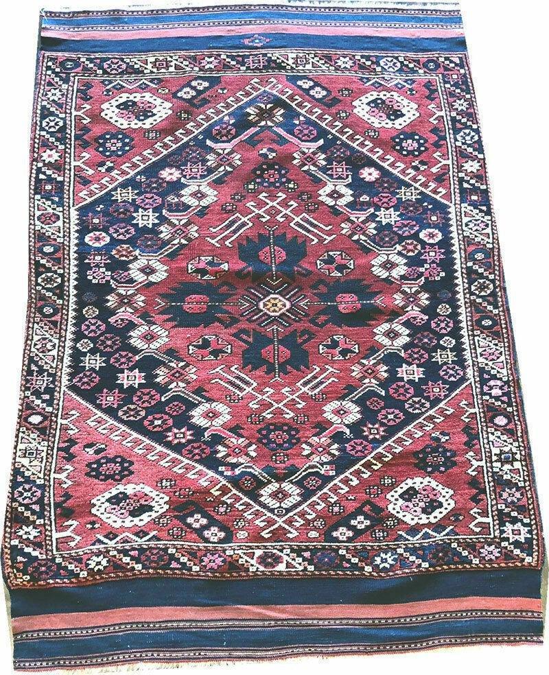 An Antique Turkish Bergaama Rug