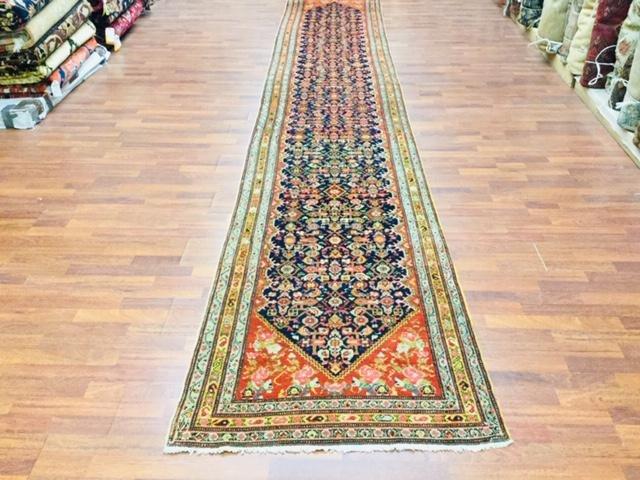 Antique Persian Long Senneh Runner