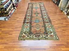 Antique Persian Northwest Gallery Size Kurdish rug1829