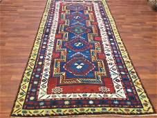 Antique Kazak Caucasian Rug3208