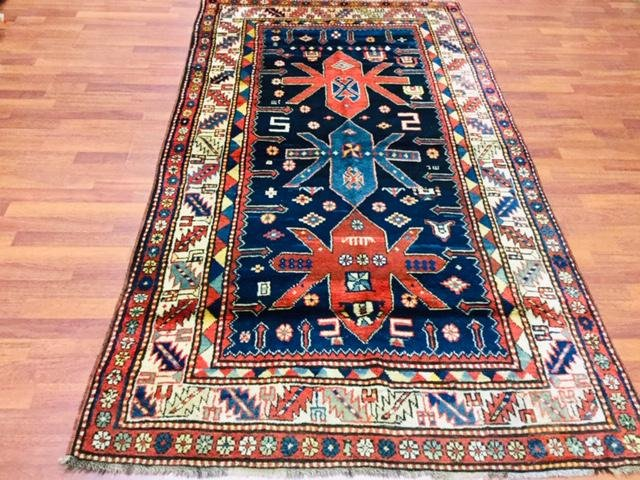 Antique Kazak Caucasian Rug-3209