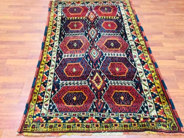 Antique Persian Kurd Rug-2527